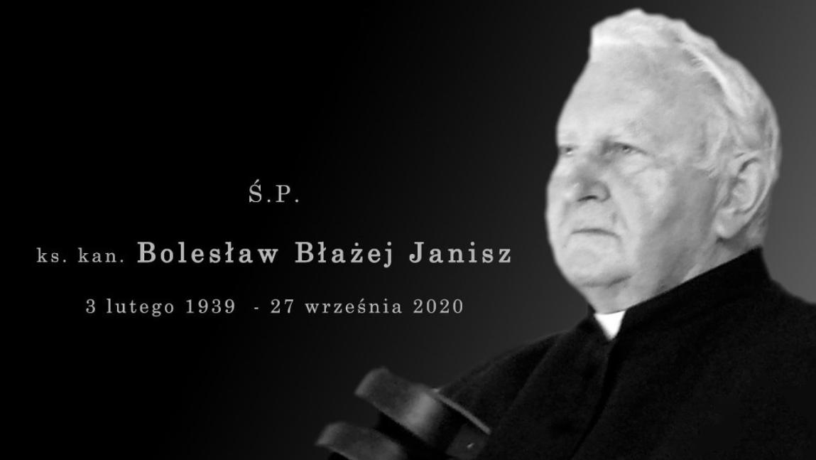 Mija rok od odejścia Księdza Kanonika Bolesława Janisza