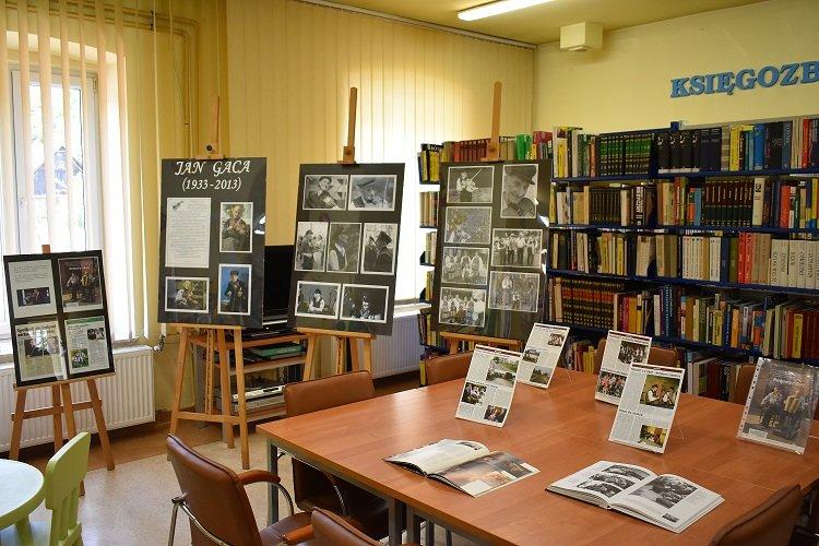 Wystawa prezentująca sylwetkę Jana Gacy